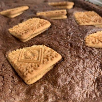 Custard Cream Brownie